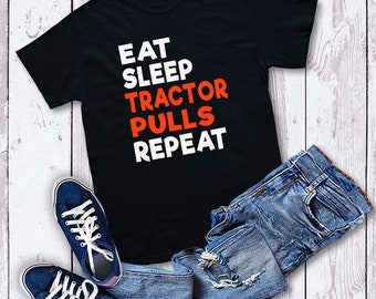 Tractor pull shirt | Etsy