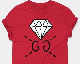 f2f4f49c Gucci T-shirt | Gucci Ghost T-shirt | Gucci Ghost Diamond Shirt | Italy  Shirt | Unisex Tee | Premium T-shirt
