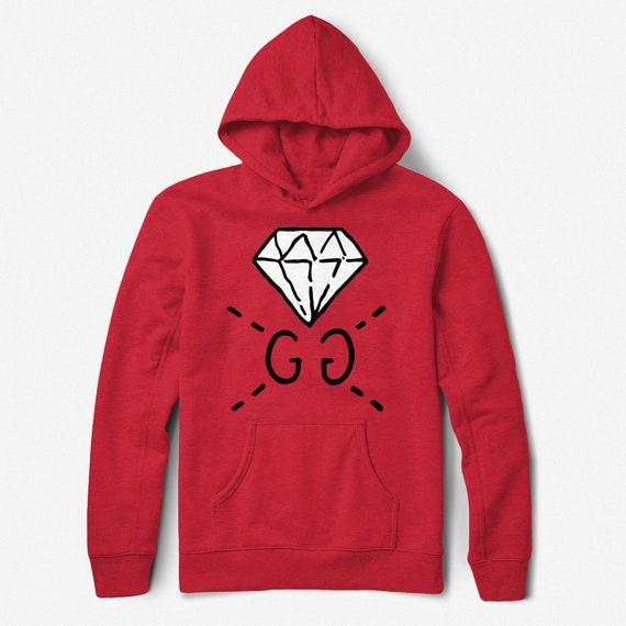 dce6162275d Gucci Hoodie Gucci Ghost Sweatshirt Gucci Ghost Diamond