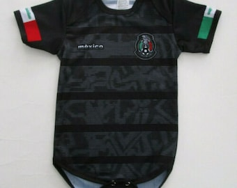 54d1b56190b Baby Mexico jersey rompers Fan Jersey Fast Shipping personalized