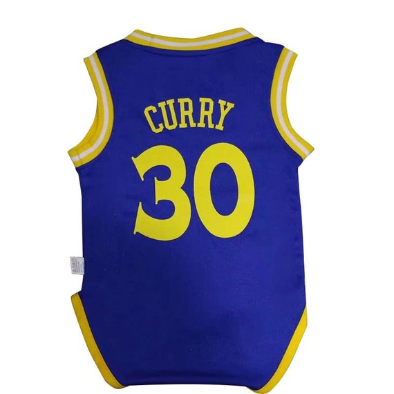 new arrivals bd9b5 19434 Baby Golden State Warriors Curry jersey rompers Baby Fan Jersey Fast  Shipping Sizes Available