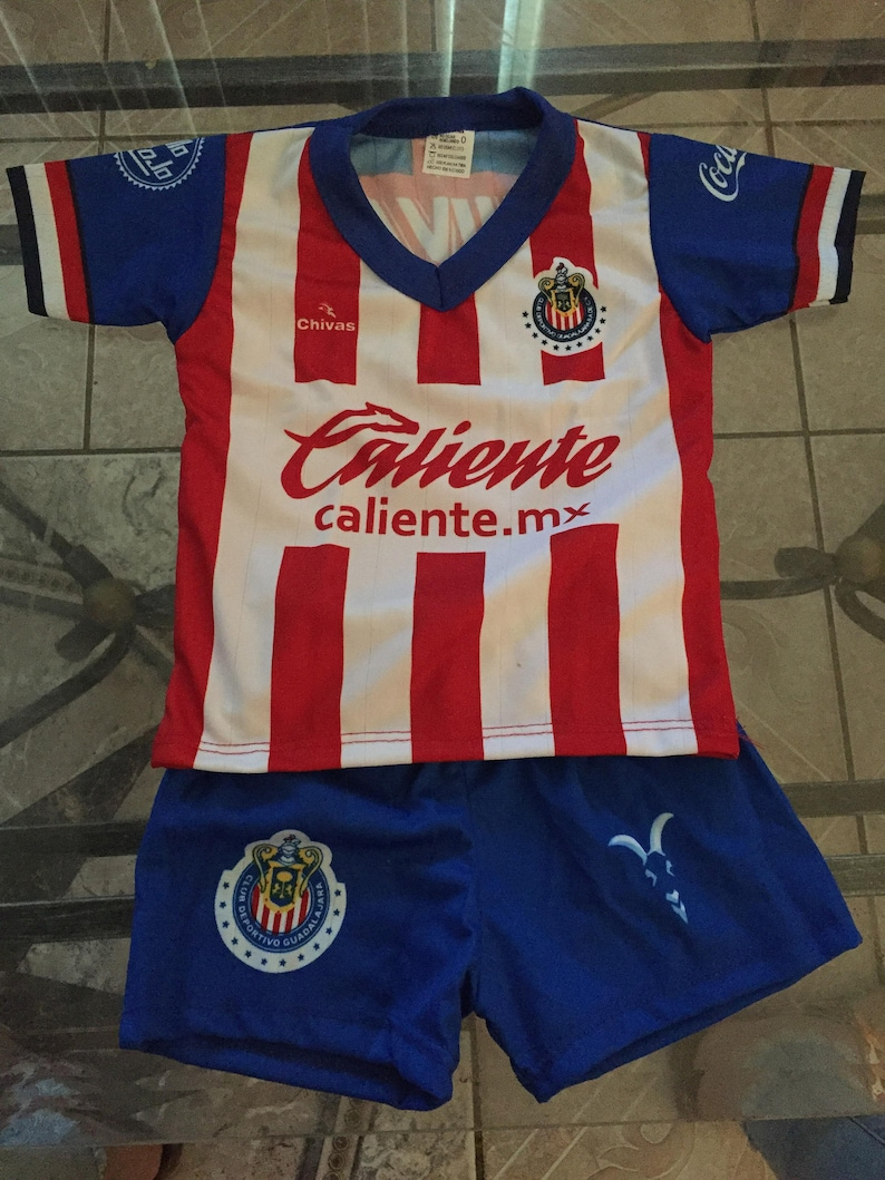 factory price 60f93 b2283 Baby infant Chivas NEW uniform jersey and short rompers Fan Jersey Fast  Shipping