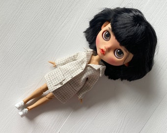 Coat for Blythe Pullip and other similar dolls