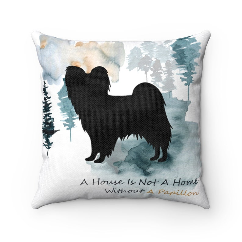 Papillon Dog Pillow Gift For Her CASE only Custom Dog Pillow Cover Personalized Pet Pillow Home Decor
