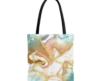 All over print tote bag, gift for her, bridesmaid gift
