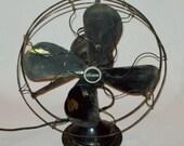 Vtg Ca 1920s Century S3C - 16 Model 264 N-3 Brass Blade Electric Fan