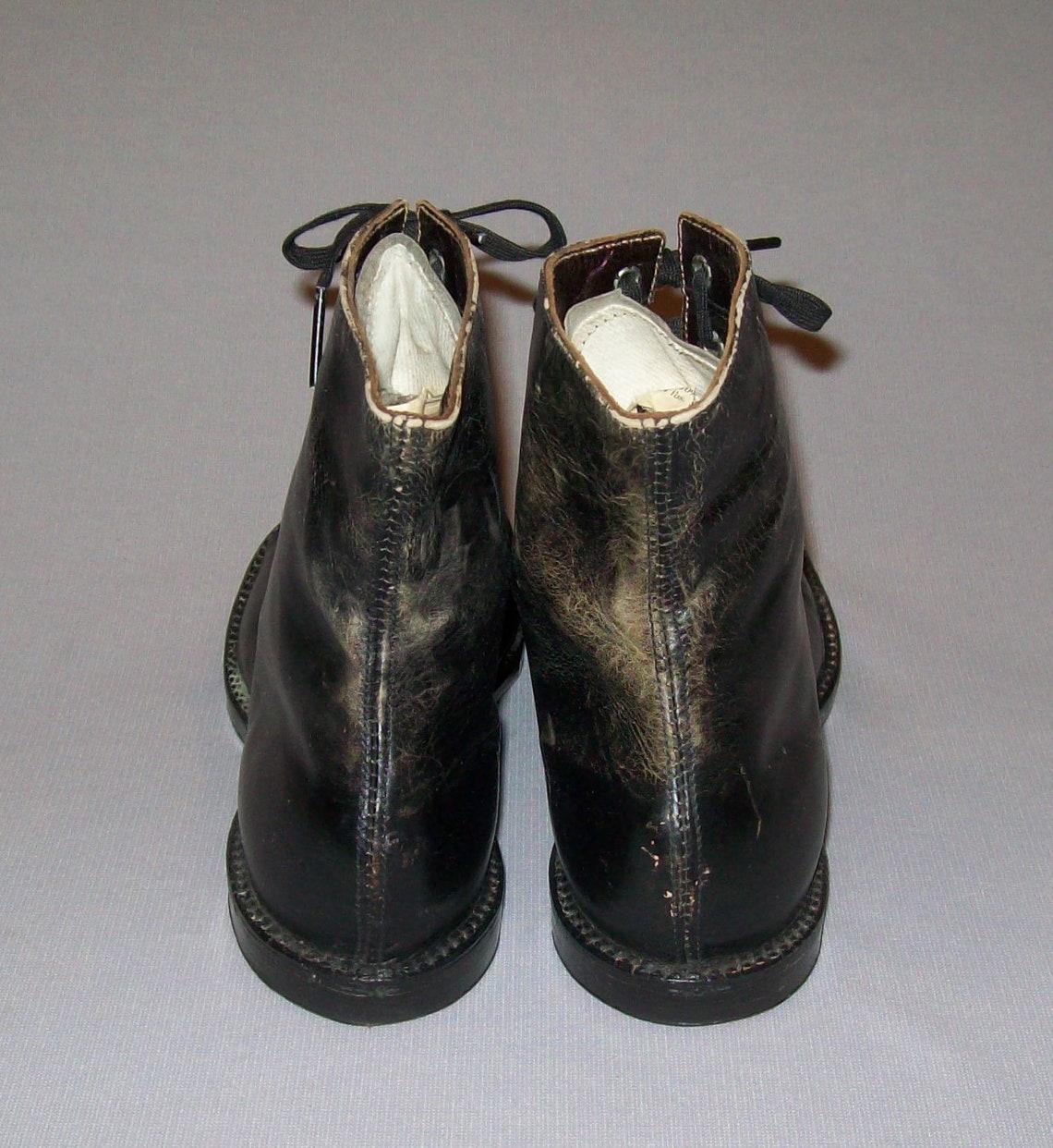Vecchio vintage VTG del 1900 ragazzi ragazze o Womens vittoriano in pelle scarpe stivali di piccole dimensioni 1,5 molto bello - Scarpe alla moda R91En1VJ 8wFgqc NwOlZM