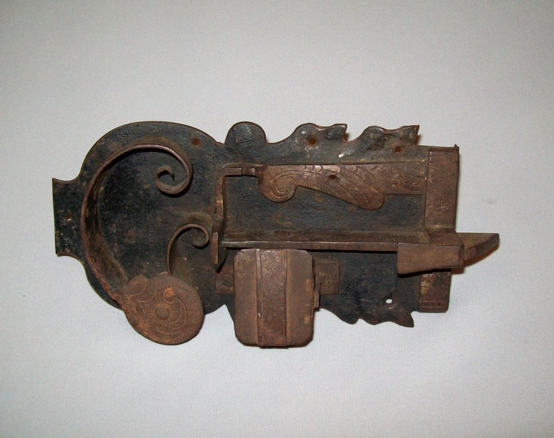 Nice Antique Vtg 19th C 1800s Folk Art Hand Made Pasta Noodle Cutter Wood Tin Home & Hearth