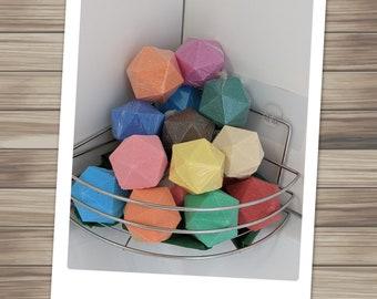 Wild Magic Surge! DND Bath Bomb Variety Box with Random Dice! (Discount Pack)