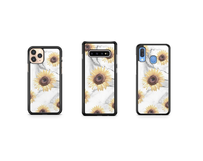 Sunflower | Marble Phone Case Cover for iPhone | Samsung