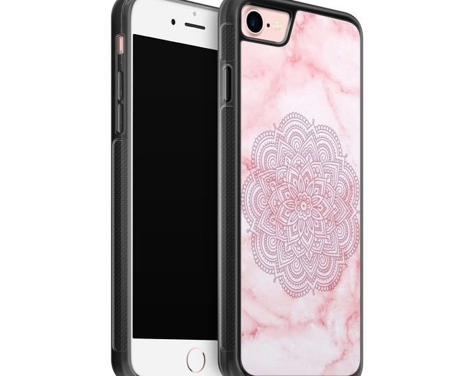 Mandala iPhone Samsung Galaxy Rubber TPU Phone Case