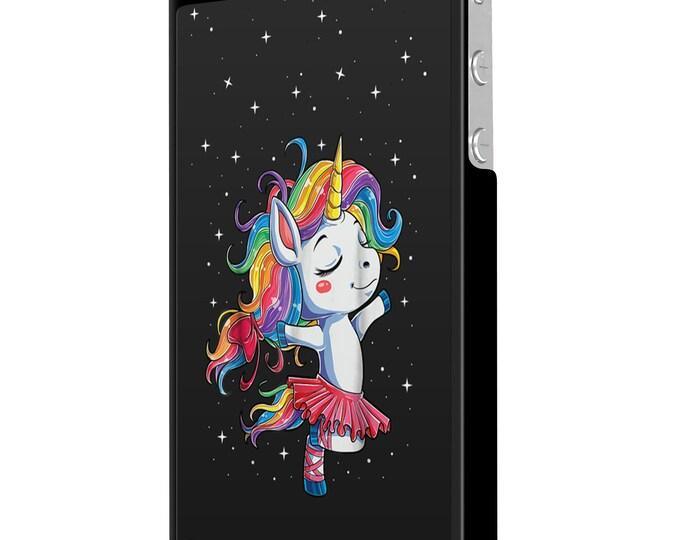 Unicorn | Ballerina | Dance to a different beat | iPhone Samsung Galaxy Phone Case