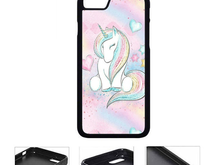 Unicorn iPhone Samsung Galaxy Rubber TPU Phone Case