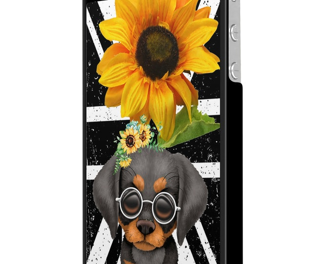 sunflower | doberman | dog | union jack | iPhone Samsung Galaxy Phone Case