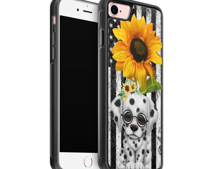 sunflower | dalmation |dog | stars and stripes | iPhone Samsung Galaxy Rubber TPU Phone Case