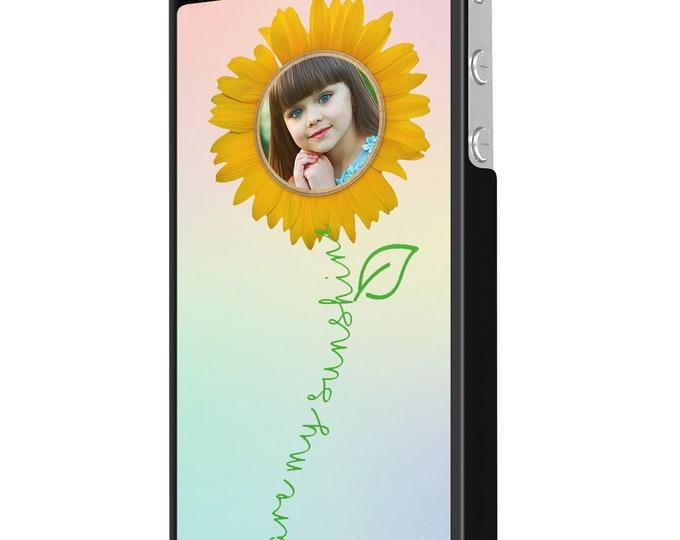 You are my sunshine | sunflower | elephant | iPhone Samsung Galaxy Phone Case