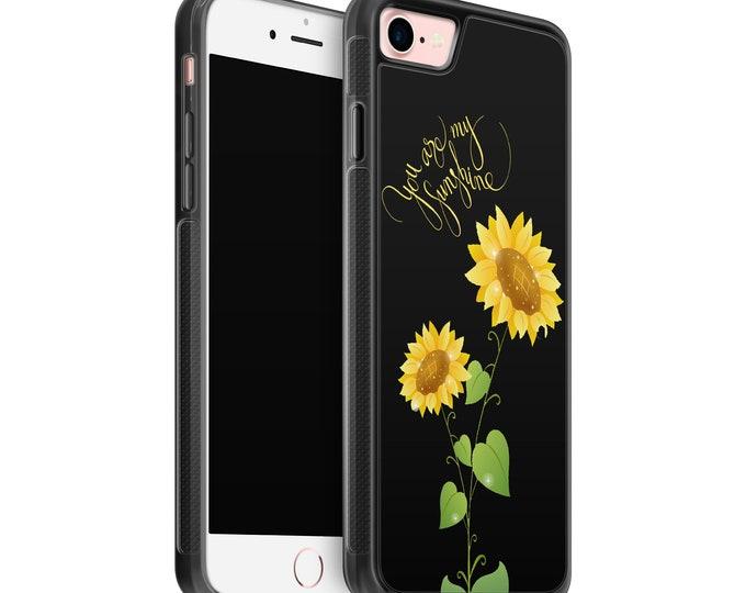 You are my sunshine | sunflower | iPhone Samsung Galaxy Rubber TPU Phone Case
