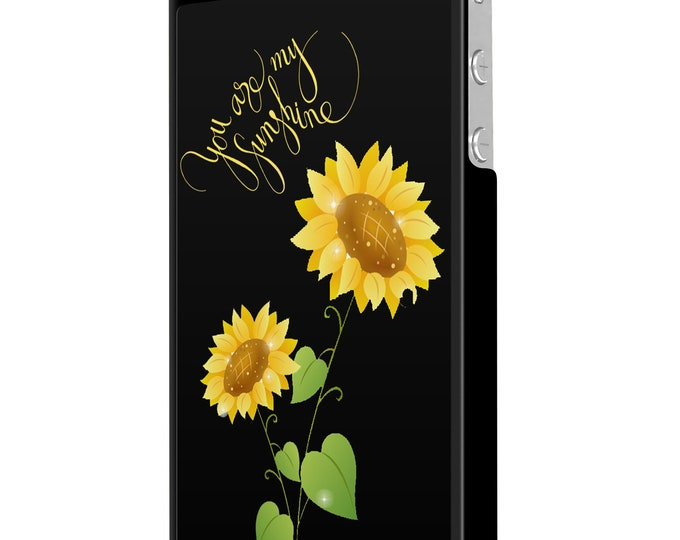 You are my sunshine | sunflower | iPhone Samsung Galaxy Phone Case