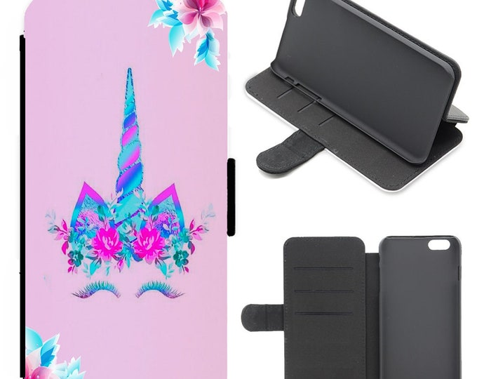 Unicorn iPhone flip wallet  iPhone samsung galaxy Case