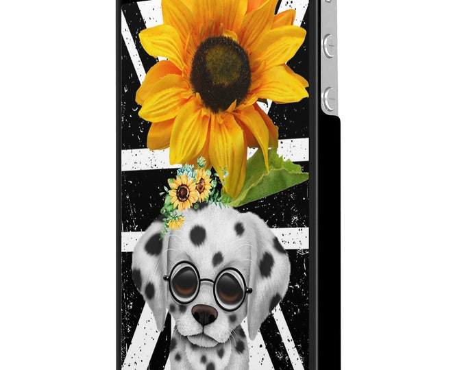 sunflower | dalmatian | dog | union jack | iPhone Samsung Galaxy Phone Case