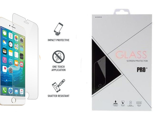 iPhone glass screen protector tempered 9H for 5 5s Se 6 7 8 plus x xs xr xs max