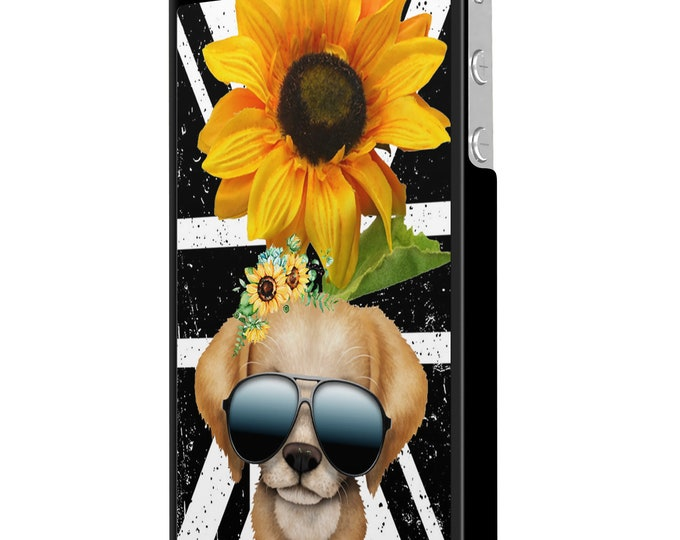 sunflower | puppy | dog | union jack | iPhone Samsung Galaxy Phone Case