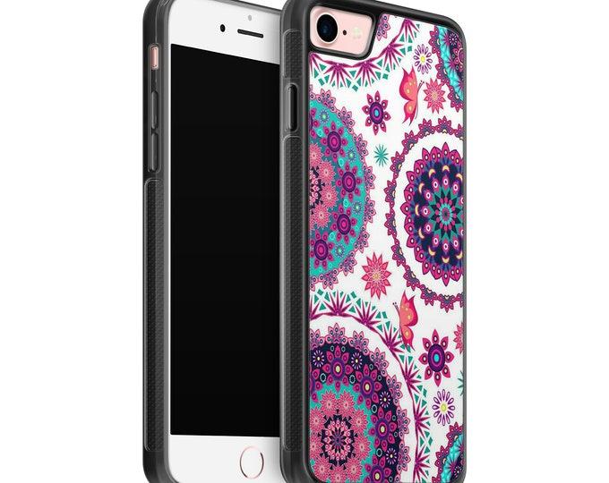 Mandala iPhone Samsung Galaxy Rubber TPU Phone Case