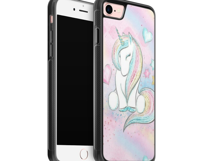 Unicorn iPhone Samsung Galaxy Rubber TPU Phone Case
