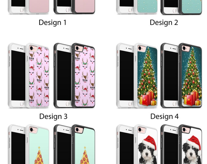 Christmas xmas Phone Case Cover for iPhone & Galaxy Rubber TPU Gel