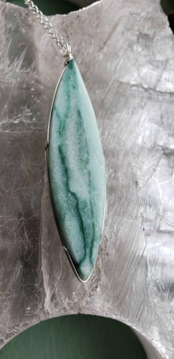 Green Marble Pendant