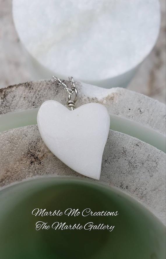Colorado Marble Heart Pendant