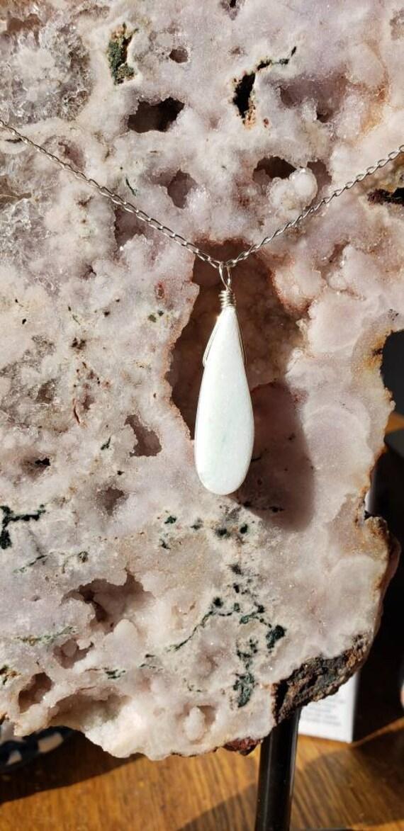 White Marble Pendant