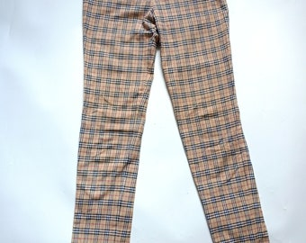 66abb33c9c985f Vintage burberry Casual Nova Check pants