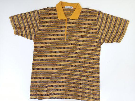 vintage polo shirt christian dior