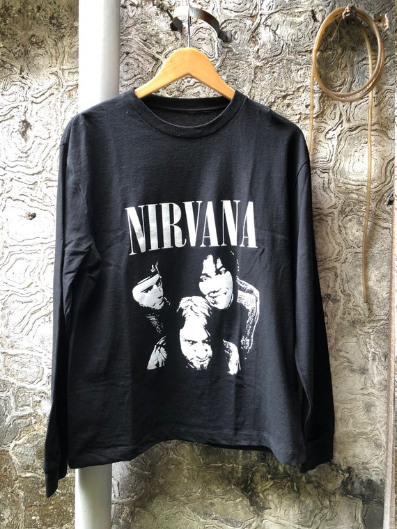 Vintage Nirvana Sub Pop Double Side Longsleeve