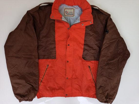 Vintage 90s Moncler x Asics Puffer Jacket Hidden … - image 1