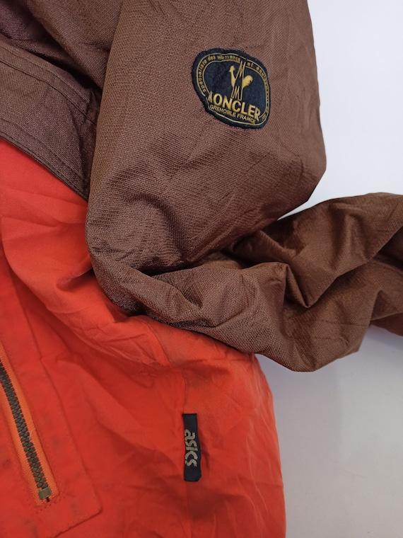 Vintage 90s Moncler x Asics Puffer Jacket Hidden … - image 5