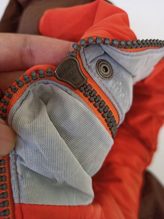 Vintage 90s Moncler x Asics Puffer Jacket Hidden … - image 4