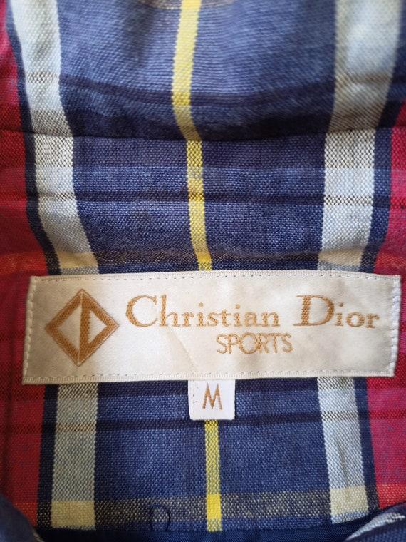 Vintage 90s Christian Dior Harrington Jacket Tart… - image 3