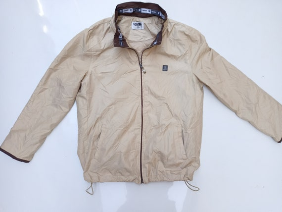 Vintage 90s Chanel Track Jacket  Made In Italy