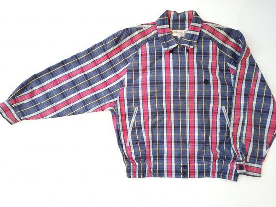 Vintage 90s Christian Dior Harrington Jacket Tart… - image 1