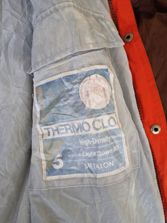 Vintage 90s Moncler x Asics Puffer Jacket Hidden … - image 8