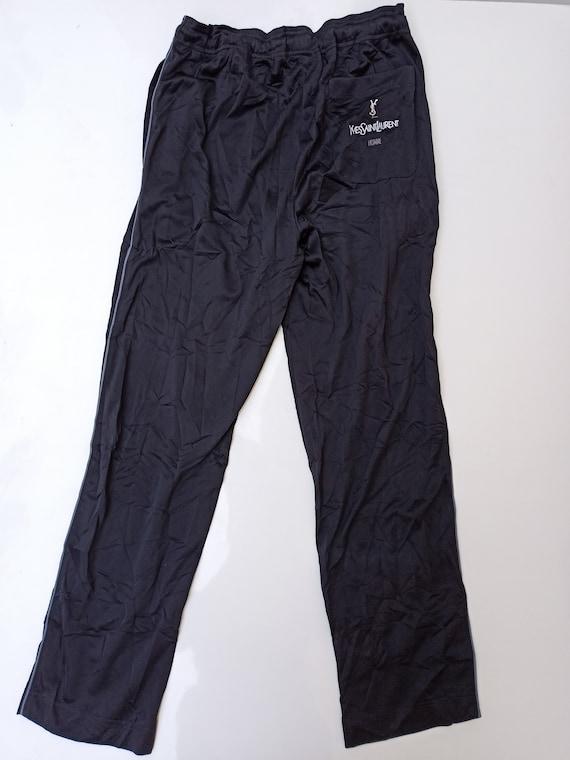 Rare Vintage 90s YSL Trackpants