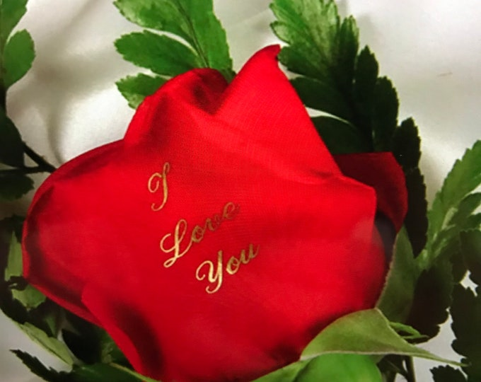 Personalized Red Rose