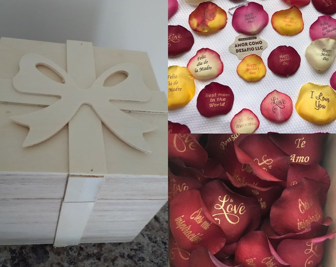 Preserved Personalized Organic Petals