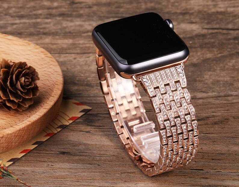 ce8342e53 Stainless Steel Apple Watch Band 38mm 42mm Metal Apple Watch image 0 ...