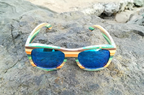 a23060bdb2d69 Valentines day gift Wood sunglasses Personalized wood