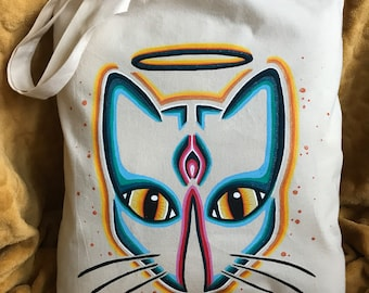 Tote Bag • Holy Pussy • Multi Color• Pussy Power • feminist