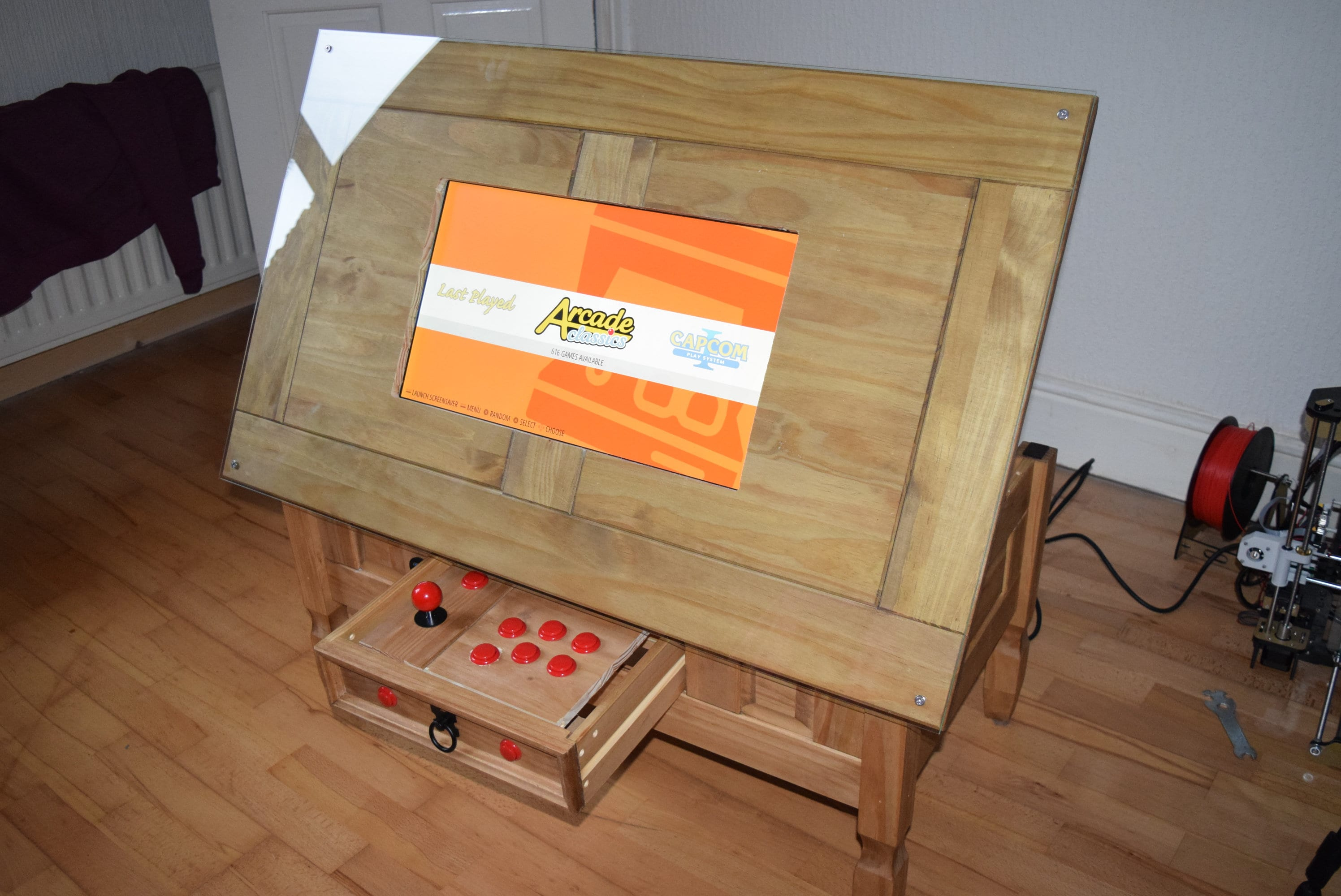 Arcade Coffee Table.Retro Arcade Coffee Table Multi Console Games System Over 5000 Games Must See