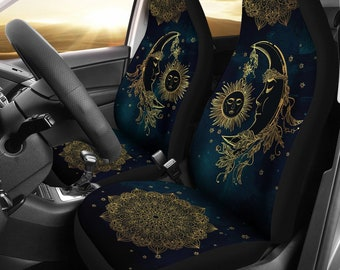 Rear Bottom Bench Cover Set of 4 Vehicle Seat Protector Car Covers for Auto Cars Sedan SUV Automotive Interior chaqlin Flower Skull Car Seat Covers Rear Backrest Cover